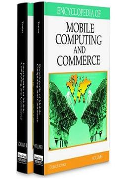 Download ebook Encyclopedia Of Mobile Computing & Commerce By David Tania