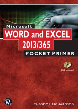 Download Microsoft Word & Excel 2013: Pocket Primer