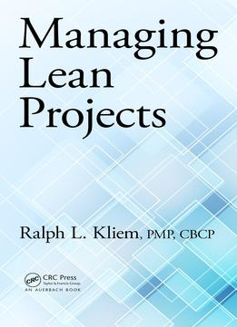 Download ebook Managing Lean Projects