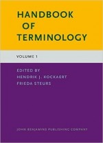 Handbook Of Terminology: Volume 1