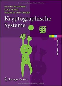 Download ebook Kryptographische Systeme