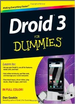 Download Droid 3 For Dummies