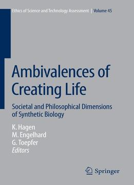 Download ebook Ambivalences Of Creating Life