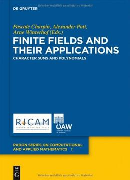 Download Finite Fields & Their Applications