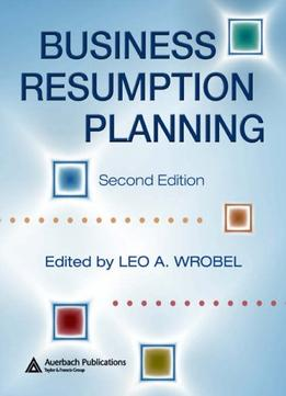 Download ebook Business Resumption Planning, Second Edition