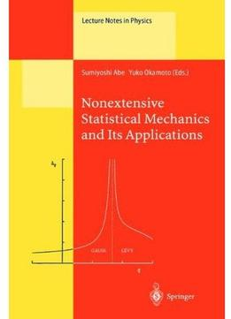 Download ebook Nonextensive Statistical Mechanics & Its Applications
