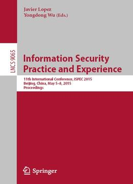 Download Information Security Practice & Experience
