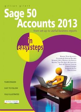 Download Sage 50 Accounts 2013 In Easy Steps