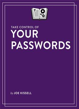 Download Take Control Of Your Passwords