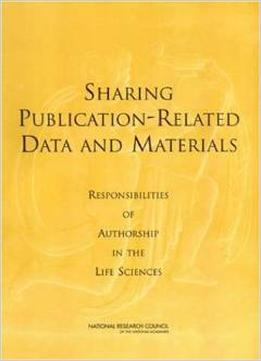 Download ebook Sharing Publication-related Data & Materials