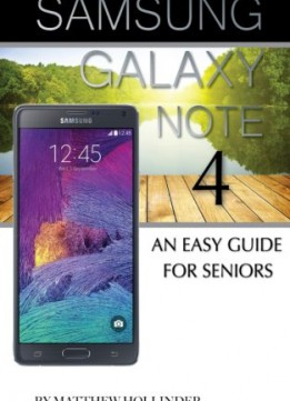 Download Samsung Galaxy Note 4: An Easy Guide For Seniors