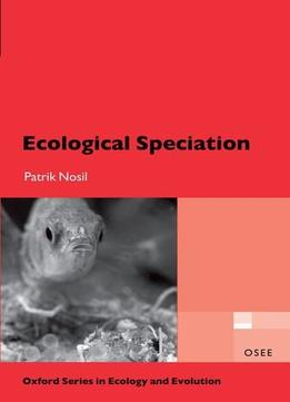 Download ebook Ecological Speciation