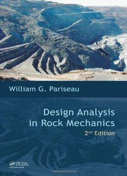 Download Design Analysis In Rock Mechanics (2nd Edition)