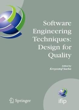 Download ebook Software Engineering Techniques: Design For Quality