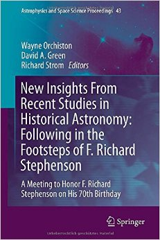 Download New Insights From Recent Studies in Historical Astronomy