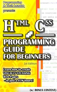 Download ebook HTML CSS Programming Guide For Beginners