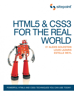 Download ebook HTML5 & CSS3 For The Real World