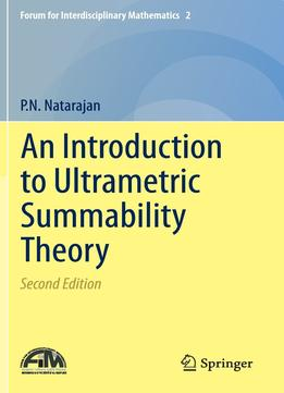 Download An Introduction To Ultrametric Summability Theory