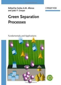 Download Green Separation Processes