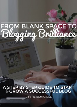 Download ebook From Blank Space To Blogging Brilliance