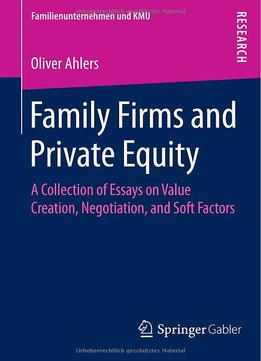 Download ebook Family Firms & Private Equity