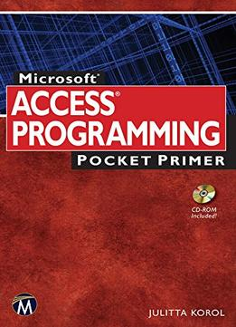 Download ebook Microsoft Access Programming Pocket Primer