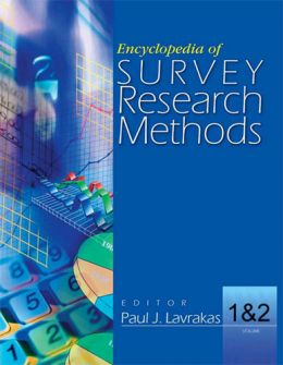 Download Encyclopedia of Survey Research Methods