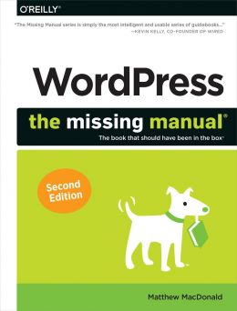 Download ebook WordPress: The Missing Manual, 2nd edition