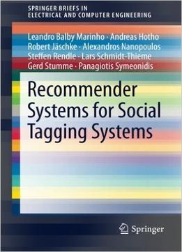 Download ebook Recommender Systems For Social Tagging Systems