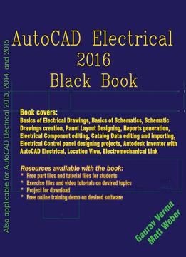 Download ebook Autocad Electrical 2016 Black Book