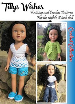 Download ebook 18inch Doll Crochet Collection No 1: Stylish clothes for 18inch dolls