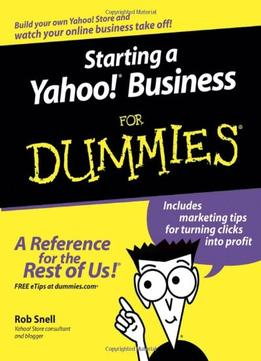 Download ebook Starting a Yahoo! Business For Dummies