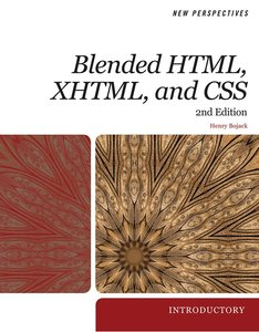 Download ebook New Perspectives on Blended HTML, XHTML, & CSS: Introductory, 2nd edition