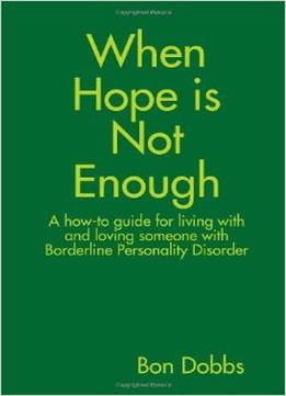 Download ebook When Hope Is Not Enough
