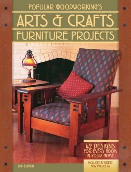 Download ebook Popular Woodworking's Arts & Crafts Furniture