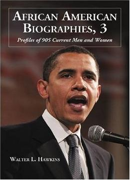 Download ebook African American Biographies, (v. 3)