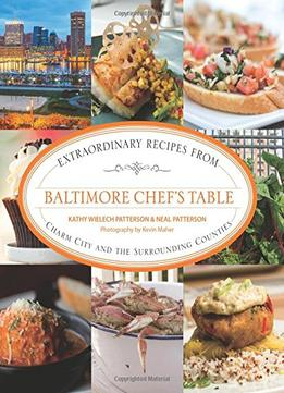 Download ebook Baltimore Chef's Table