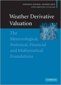 Download Weather Derivative Valuation