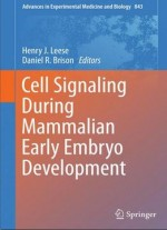 Cell Signaling During Mammalian Early Embryo Development