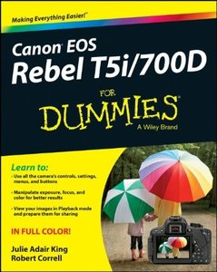 Download Canon EOS Rebel T5i/700D For Dummies