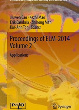Download ebook Proceedings Of Elm-2014 Volume 2: Applications