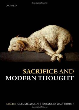 Download Sacrifice & Modern Thought