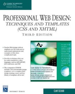 Download ebook Professional Web Design: Techniques & Templates (CSS & XHTML), Third Edition