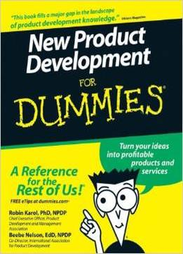 Download New Product Development For Dummies By Robin Karol