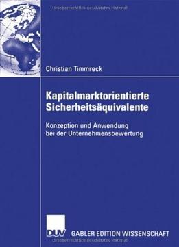 Download Kapitalmarktorientierte Sicherheitsäquivalente