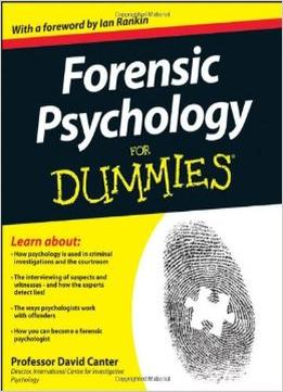 Download Forensic Psychology For Dummies
