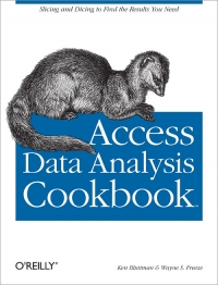 Download ebook Access Data Analysis Cookbook