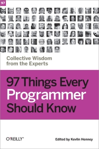 Download ebook 97 Things Every Programmer Should Know
