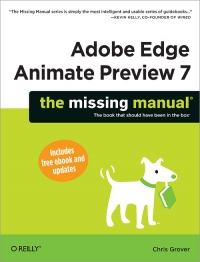 Download ebook Adobe Edge Animate Preview 7: The Missing Manual