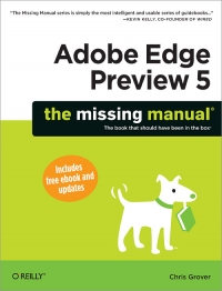 Download ebook Adobe Edge Preview 5: The Missing Manual